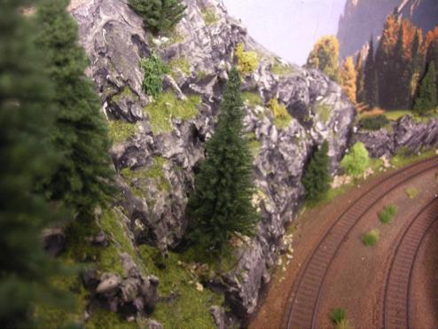 Landskabsbygning af bjerge